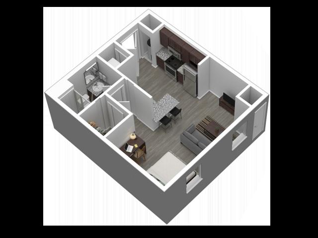 Studio Standard // View Floor Plan